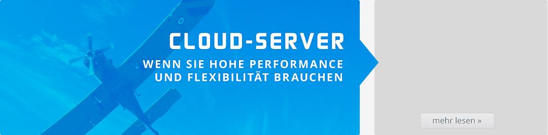 Cloud-Server mieten.