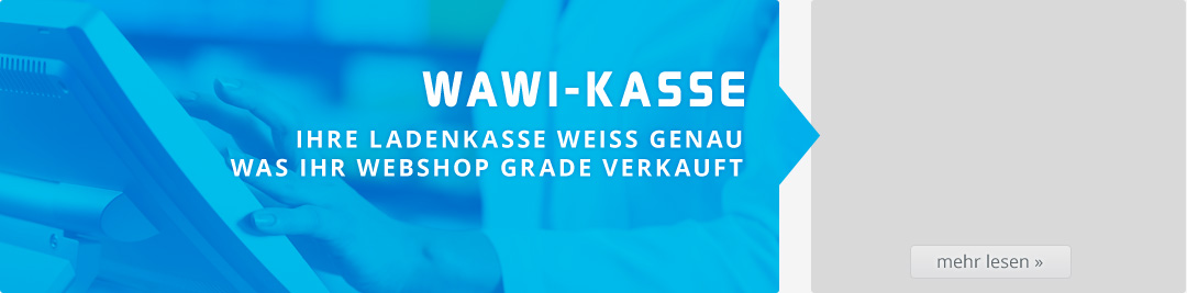 WAWI-Kasse für Ladengeschäft